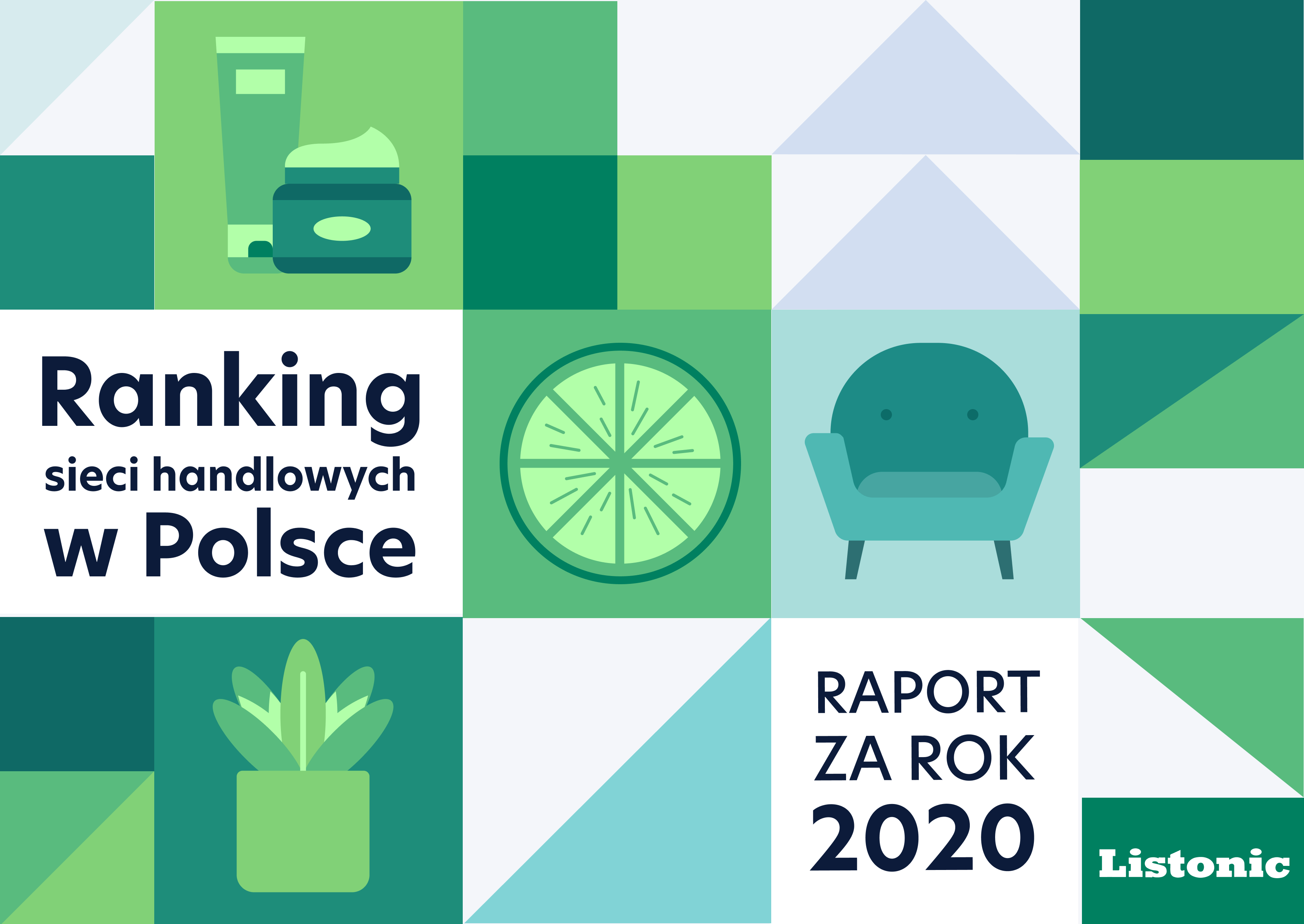 Ranking sieci handlowych Listonic - które marki Polacy wybierali najczęściej w 2020 roku? - Poilish Magazine