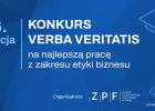XVI edycja konkursu Verba Veritatis na najlepszą pracę z dziedziny etyki biznesu